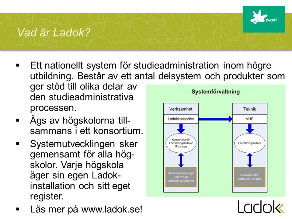 Vad är Ladok