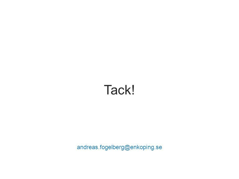 Tack! andreas.fogelberg@enkoping.se