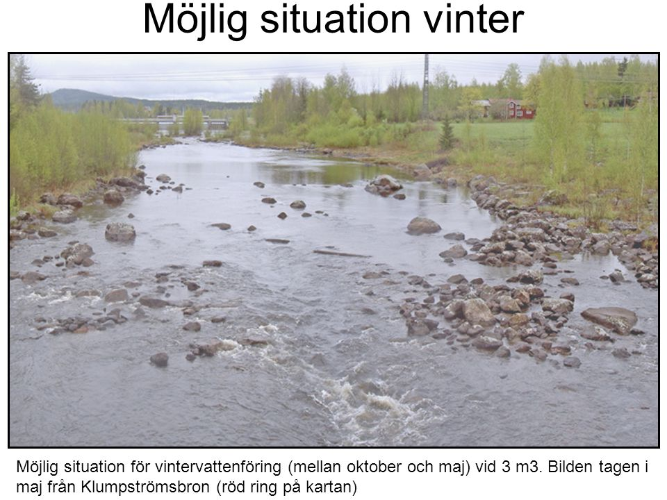 Möjlig situation vinter