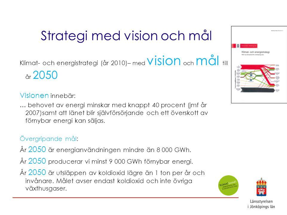 Strategi med vision och mål