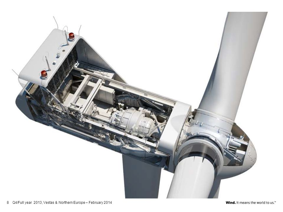 Q4/Full year 2013, Vestas & Northern Europe – February 2014