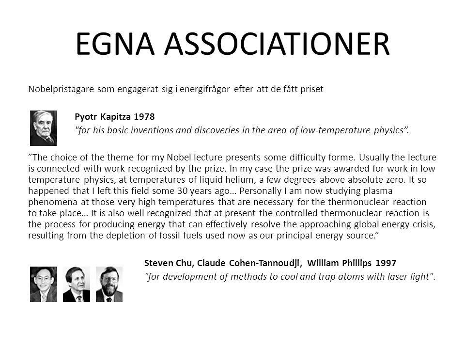 EGNA ASSOCIATIONER
