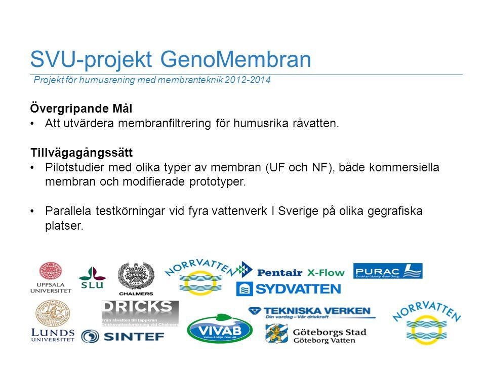 SVU-projekt GenoMembran