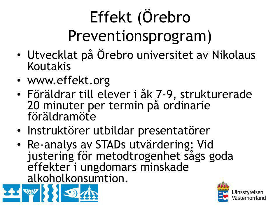 Effekt (Örebro Preventionsprogram)