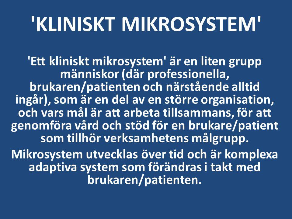 KLINISKT MIKROSYSTEM