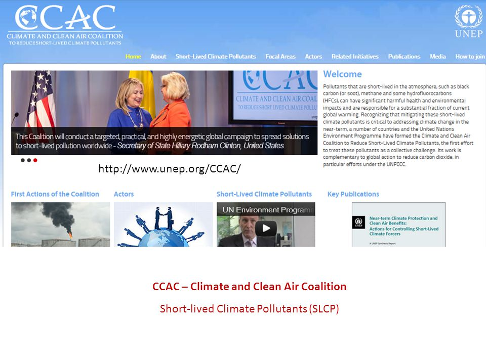 CCAC – Climate and Clean Air Coalition