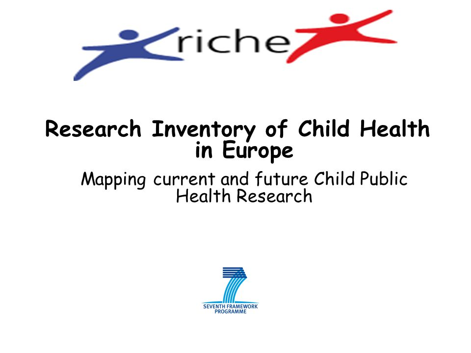 Research Inventory of Child Health in Europe