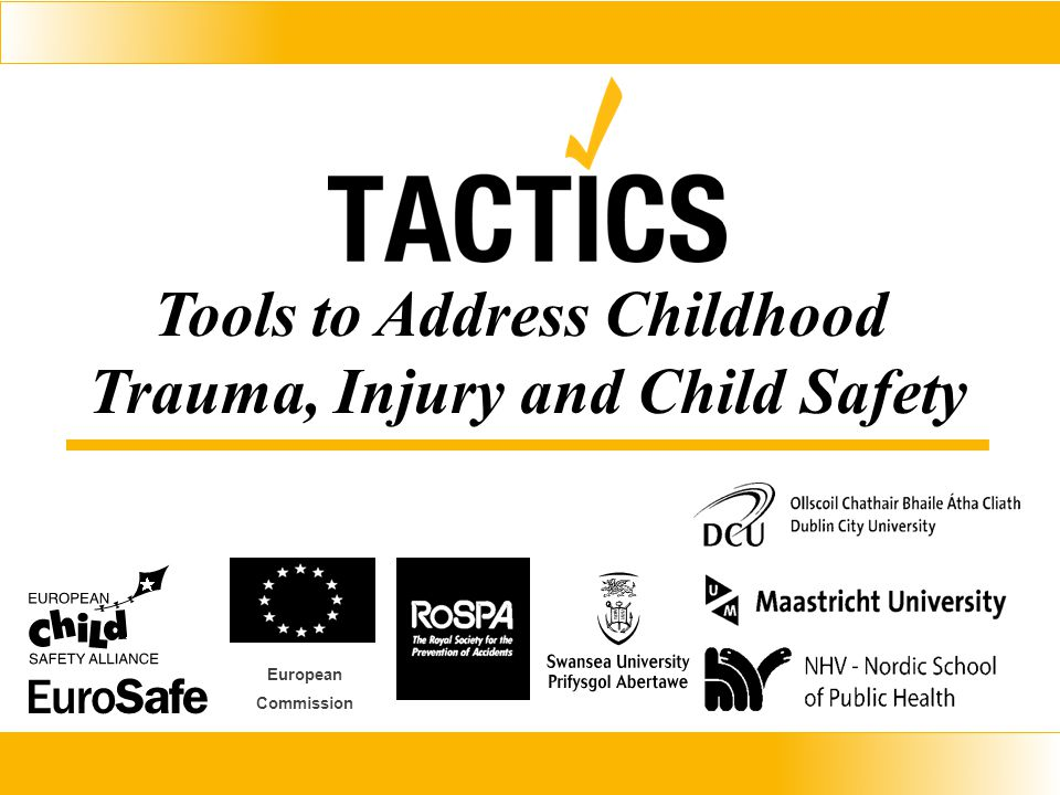 Tools to Address Childhood Trauma, Injury and Child Safety