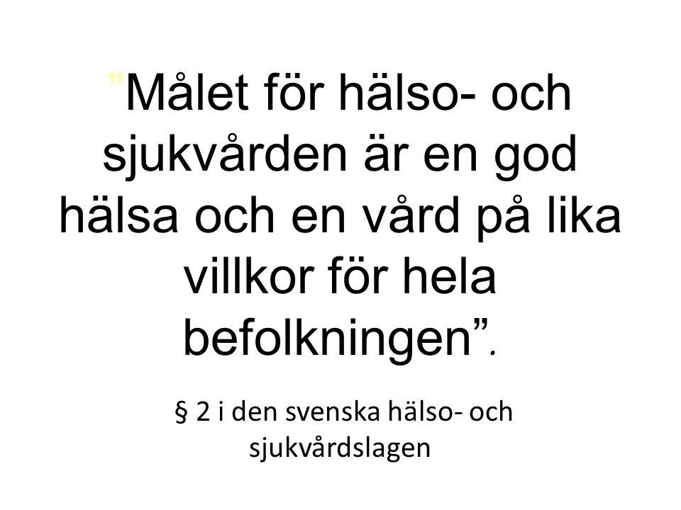 § 2 i den svenska hälso- och sjukvårdslagen