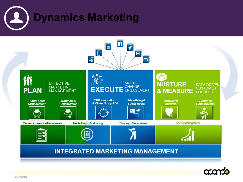 Dynamics Marketing EXECUTE Plan Nurture & Measure