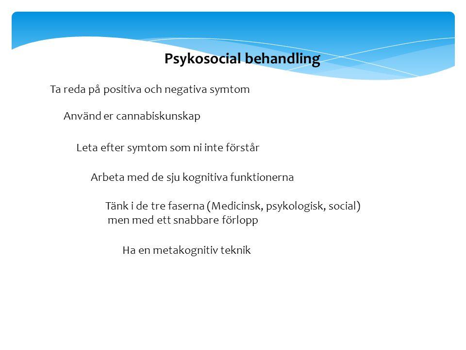 Psykosocial behandling