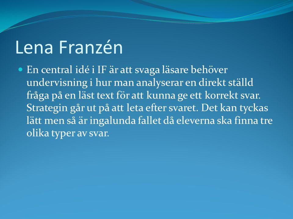 Lena Franzén