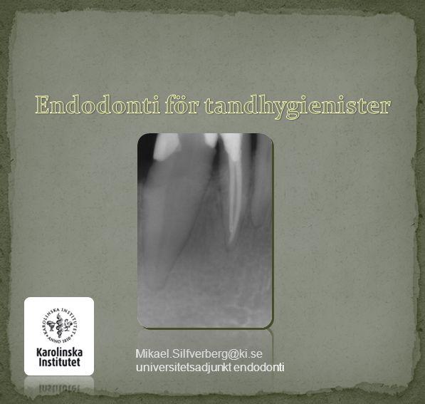 Endodonti för tandhygienister