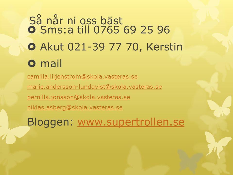 Bloggen: www.supertrollen.se