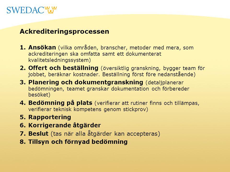 Ackrediteringsprocessen