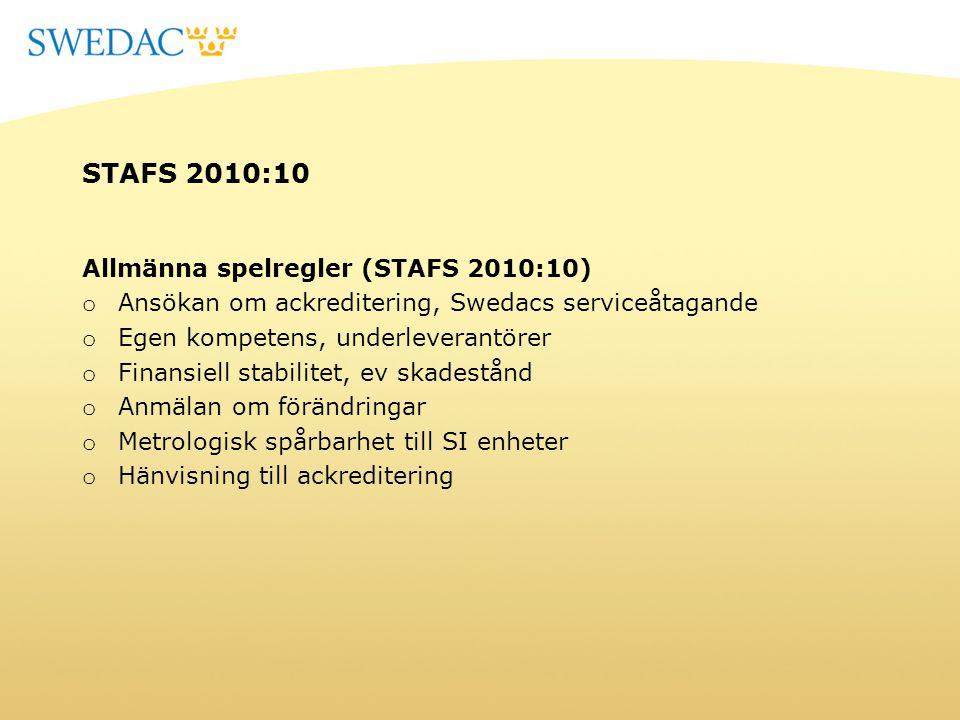 STAFS 2010:10 Allmänna spelregler (STAFS 2010:10)
