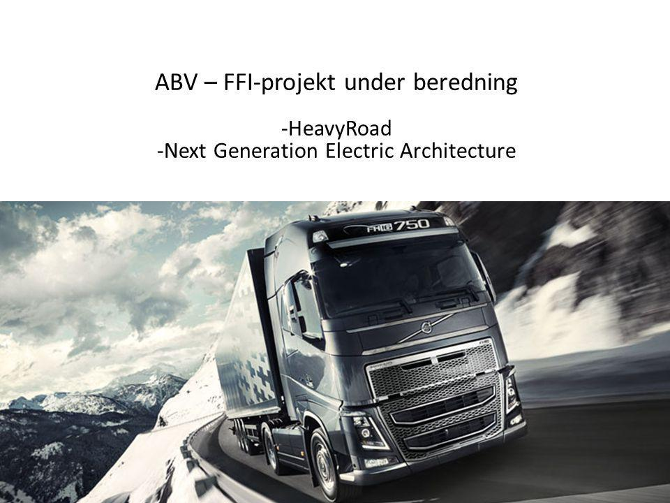 ABV – FFI-projekt under beredning