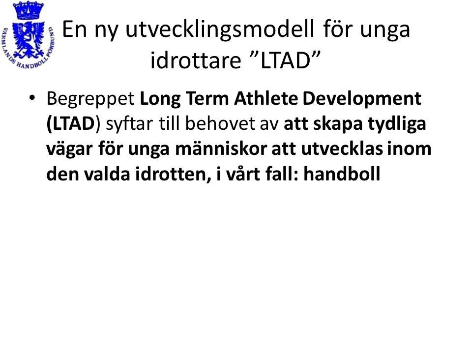 En ny utvecklingsmodell för unga idrottare LTAD