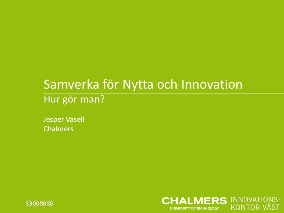 Samverka för Nytta och Innovation