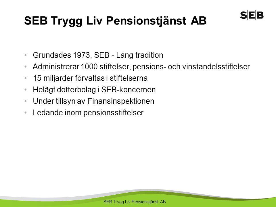 SEB Trygg Liv Pensionstjänst AB