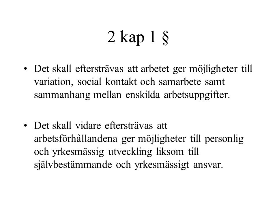 2 kap 1 §