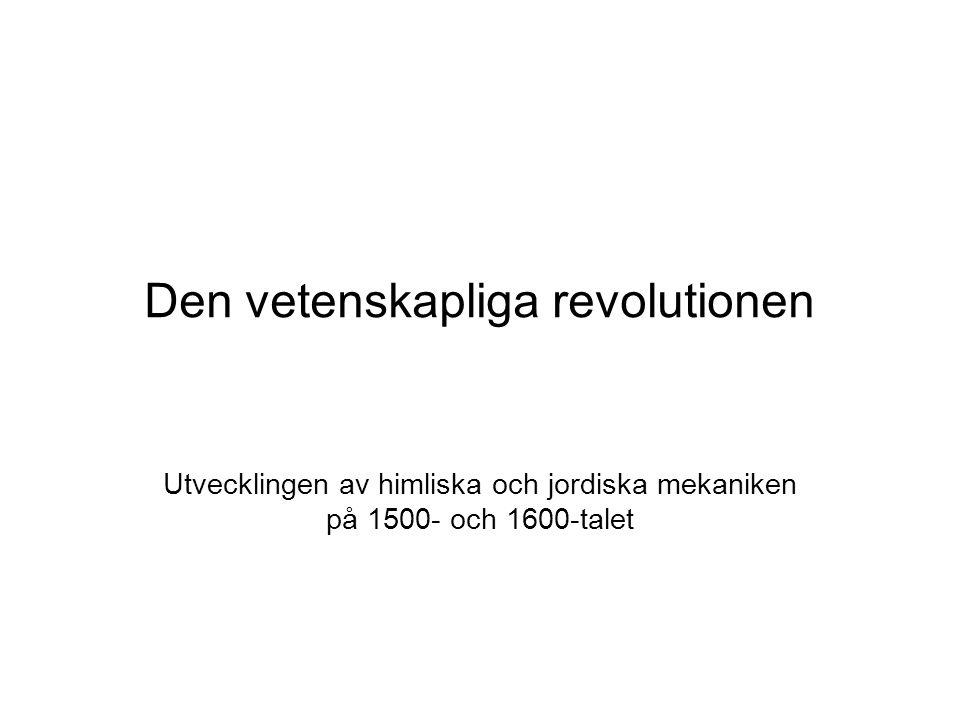 Den vetenskapliga revolutionen