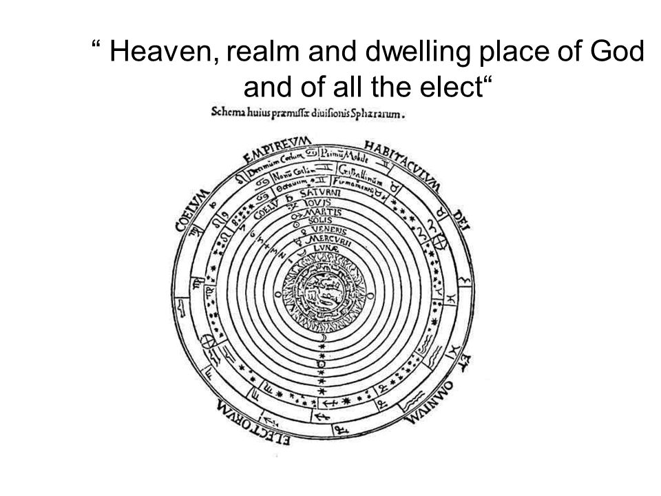 Heaven, realm and dwelling place of God and of all the elect