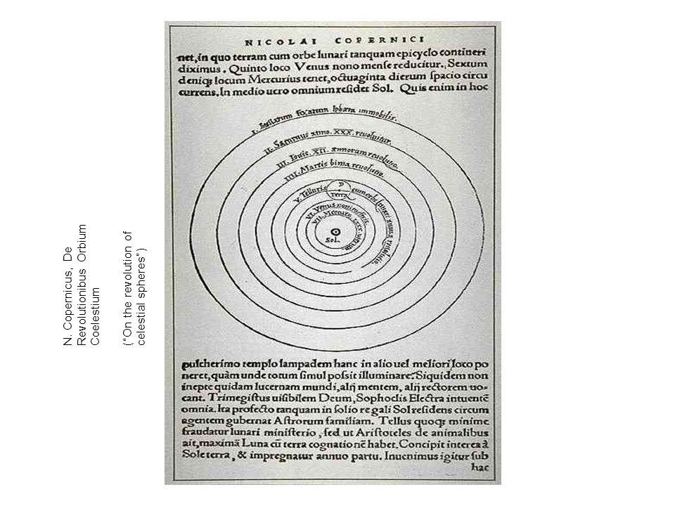 N. Copernicus, De Revolutionibus Orbium Coelestium