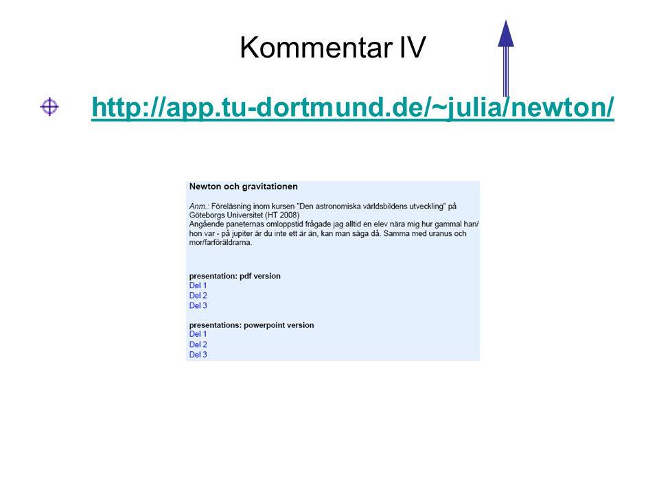 Kommentar IV http://app.tu-dortmund.de/~julia/newton/