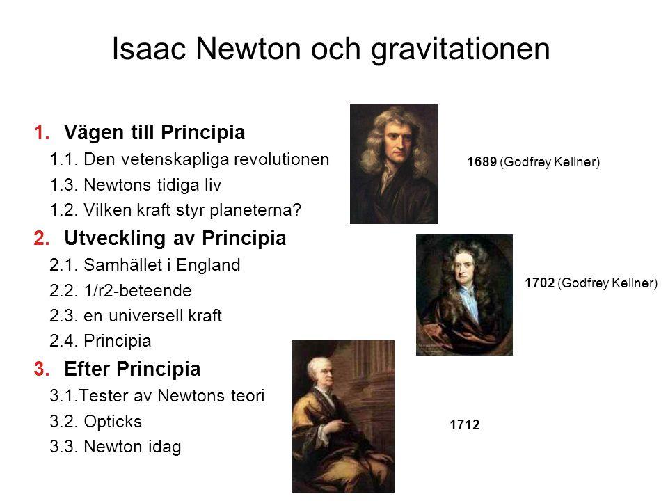 Isaac Newton och gravitationen