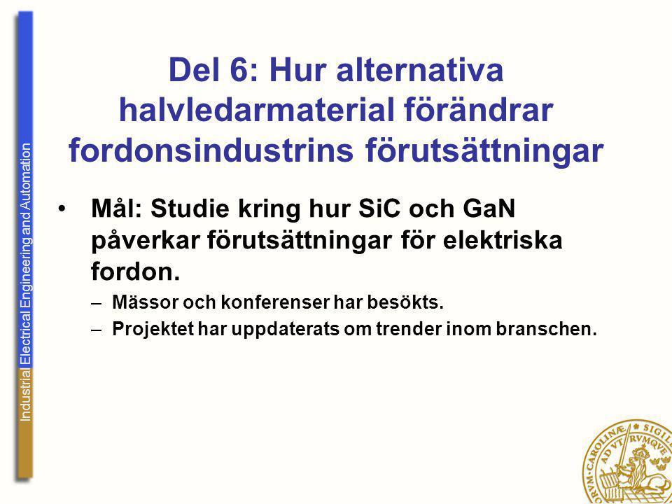 Del 6: Hur alternativa halvledarmaterial förändrar fordonsindustrins förutsättningar