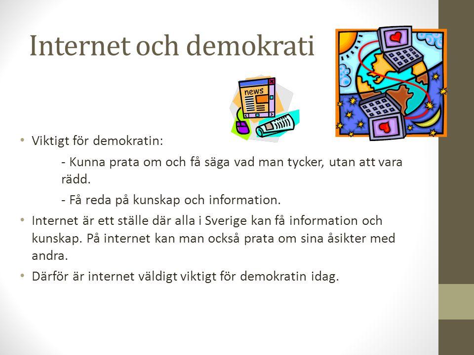 Internet och demokrati