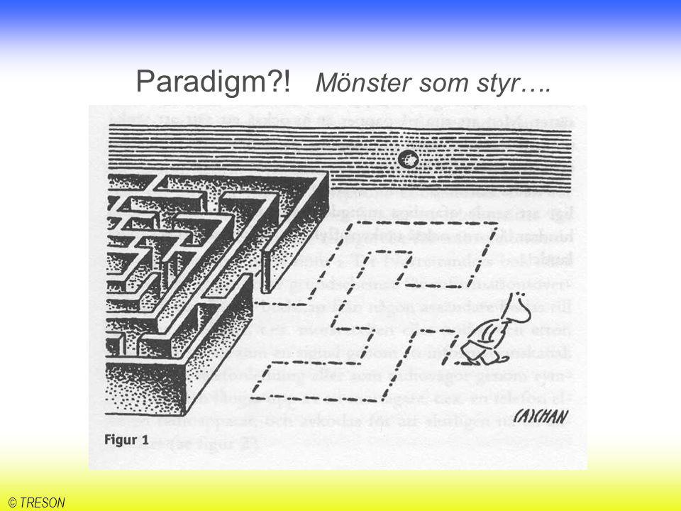 Paradigm ! Mönster som styr….