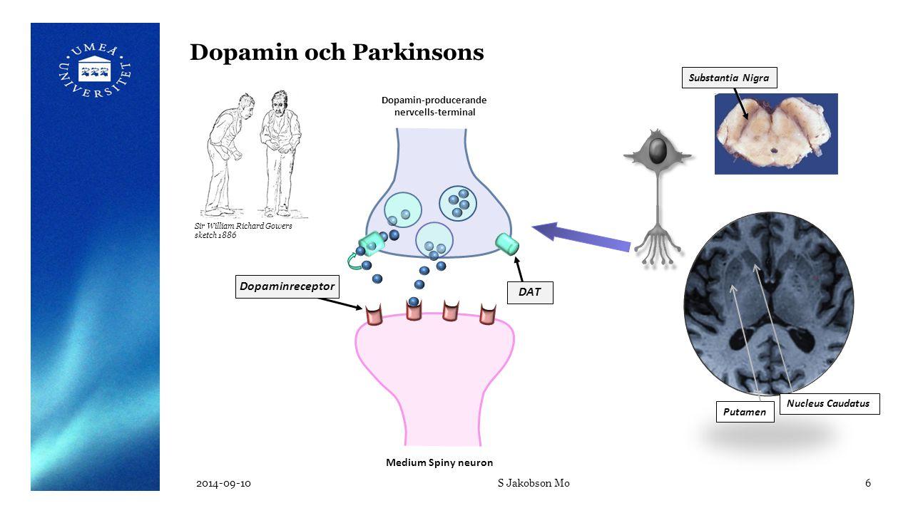 Dopamin och Parkinsons