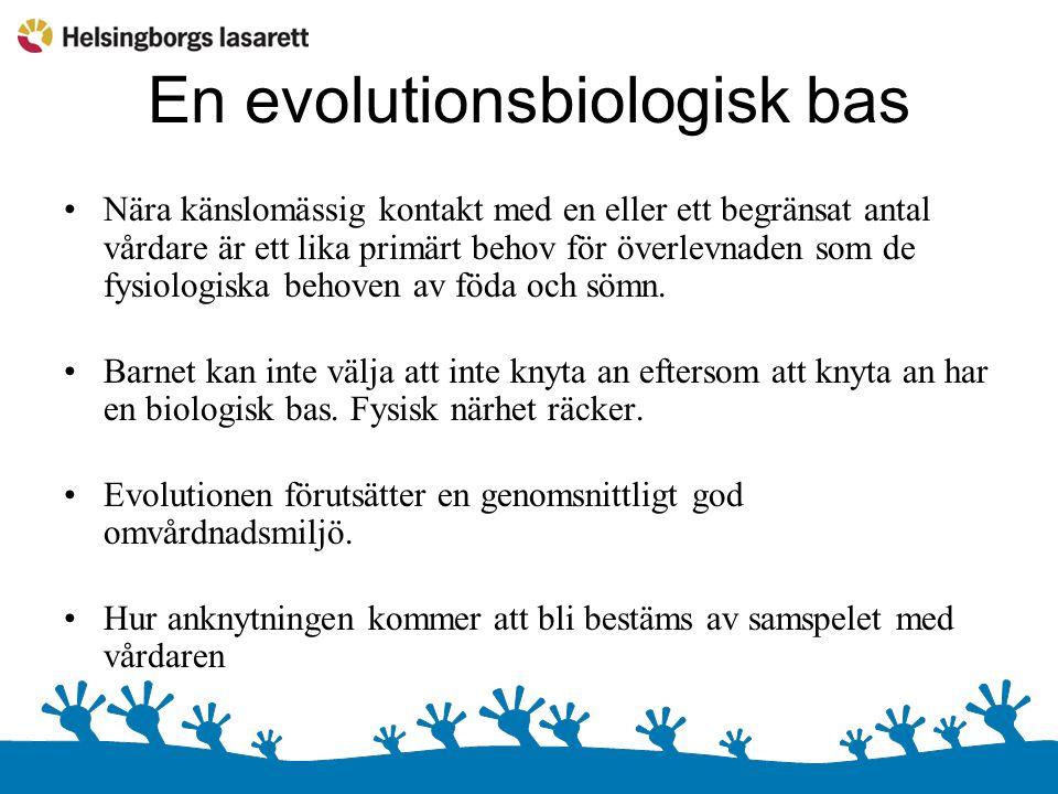 En evolutionsbiologisk bas