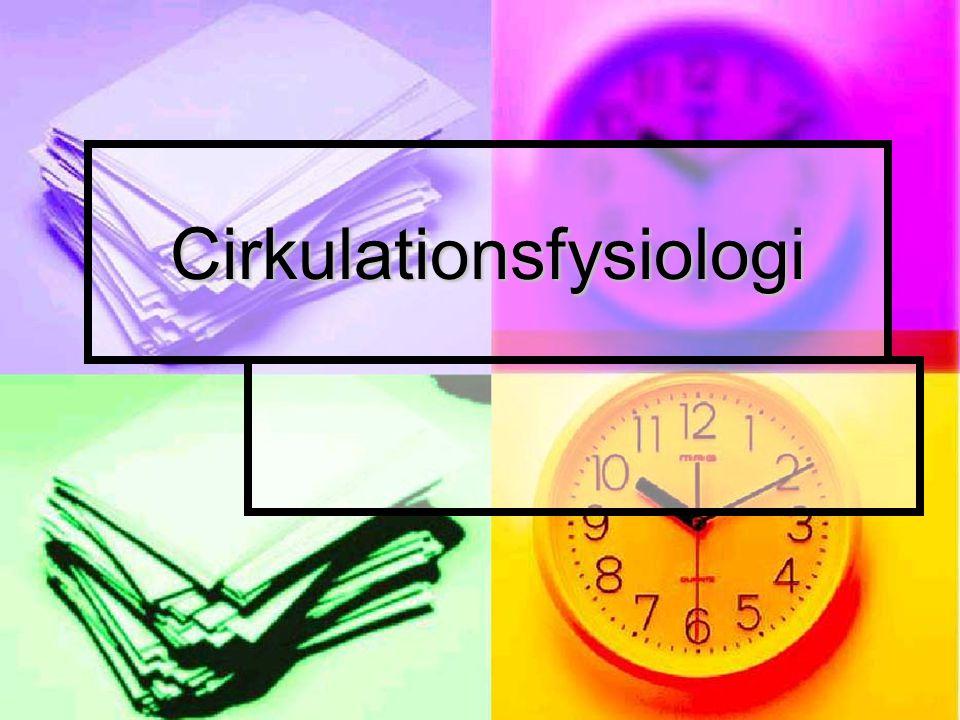Cirkulationsfysiologi