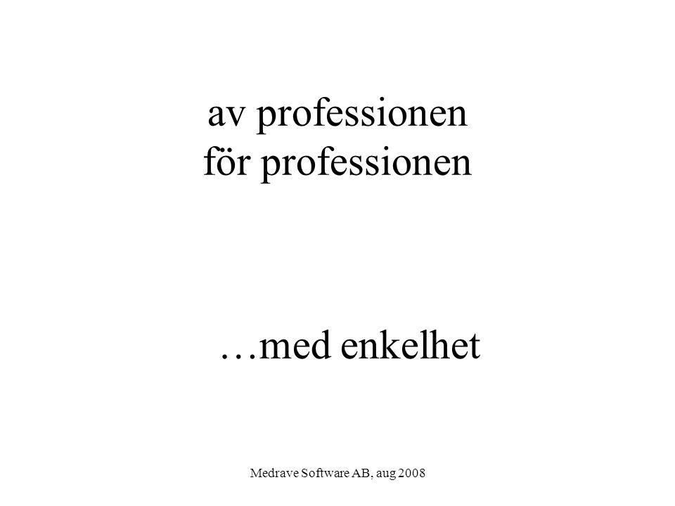 av professionen för professionen