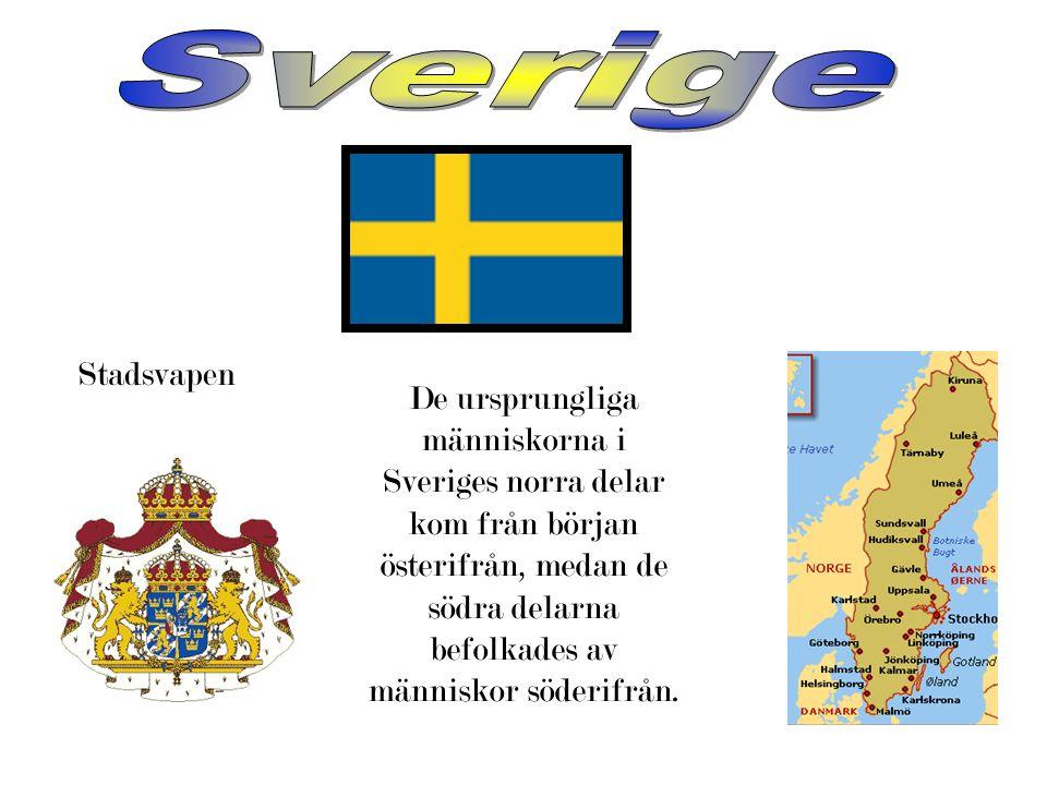 Sverige Stadsvapen.