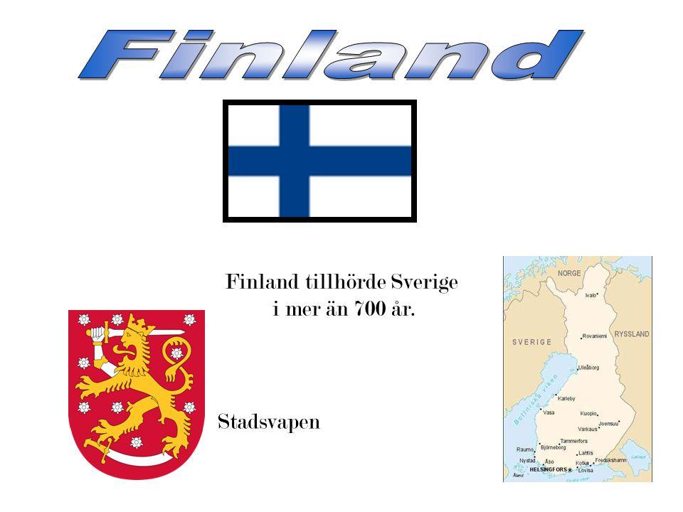 Finland tillhörde Sverige