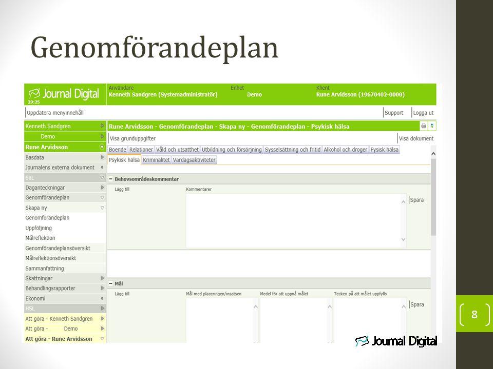 Genomförandeplan
