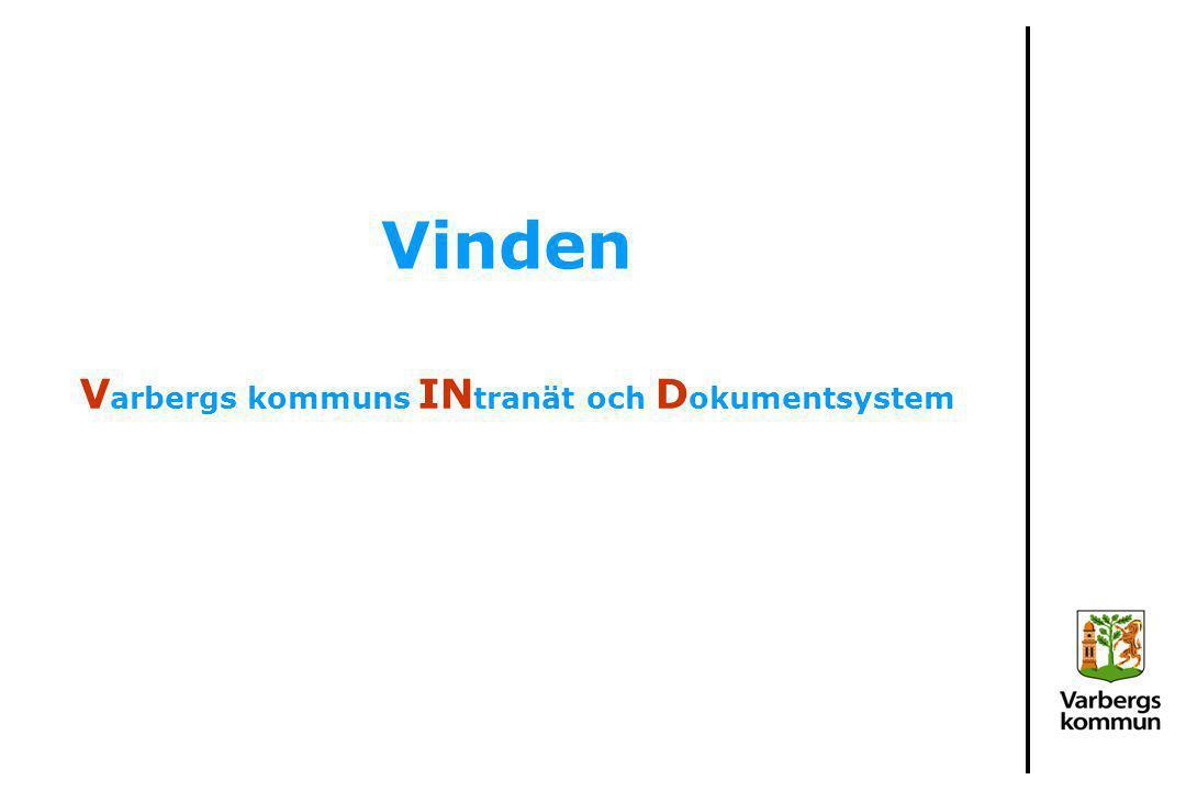 Varbergs kommuns INtranät och Dokumentsystem