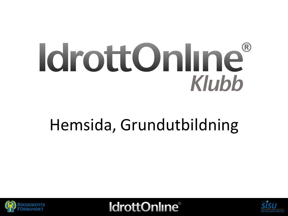 Hemsida, Grundutbildning