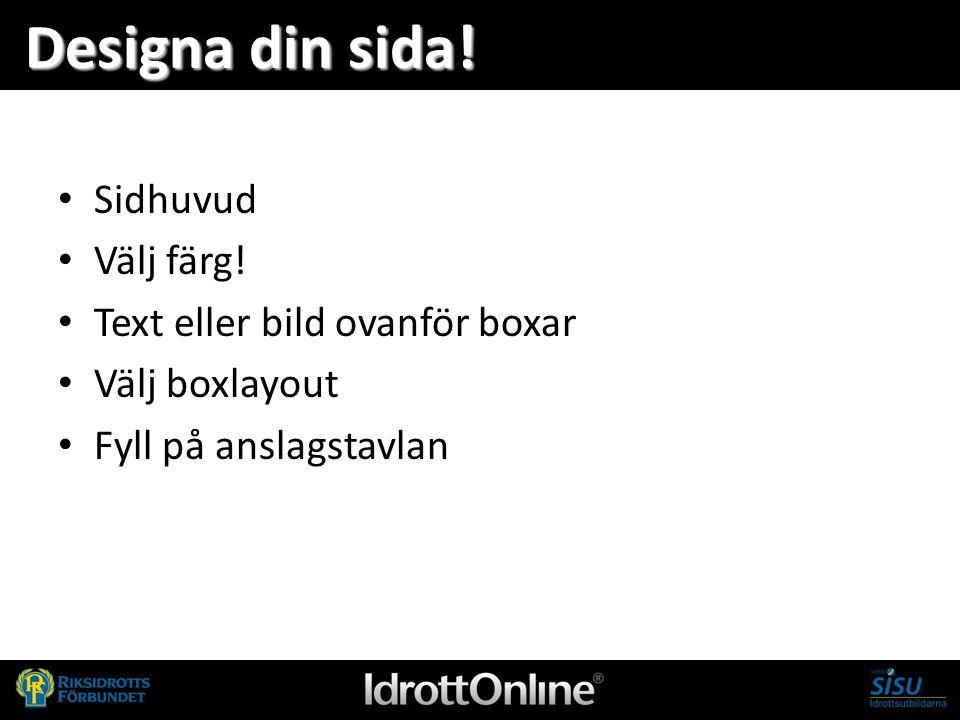 - en del av svensk idrott