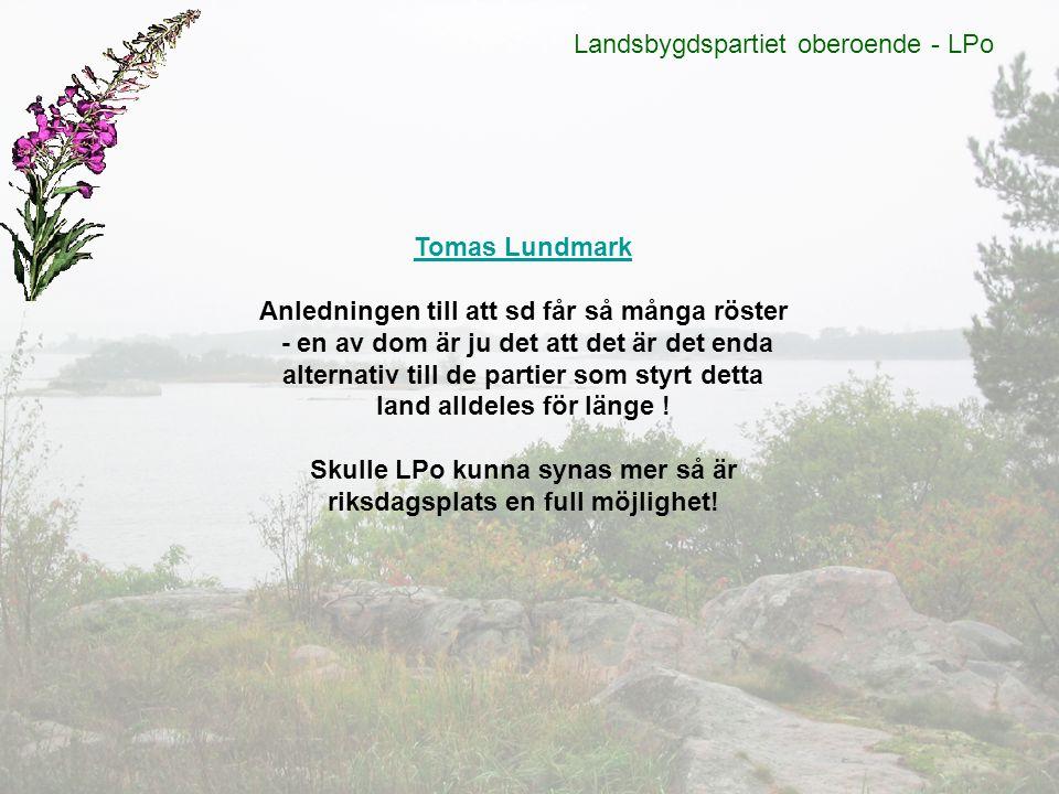 Landsbygdspartiet oberoende - LPo