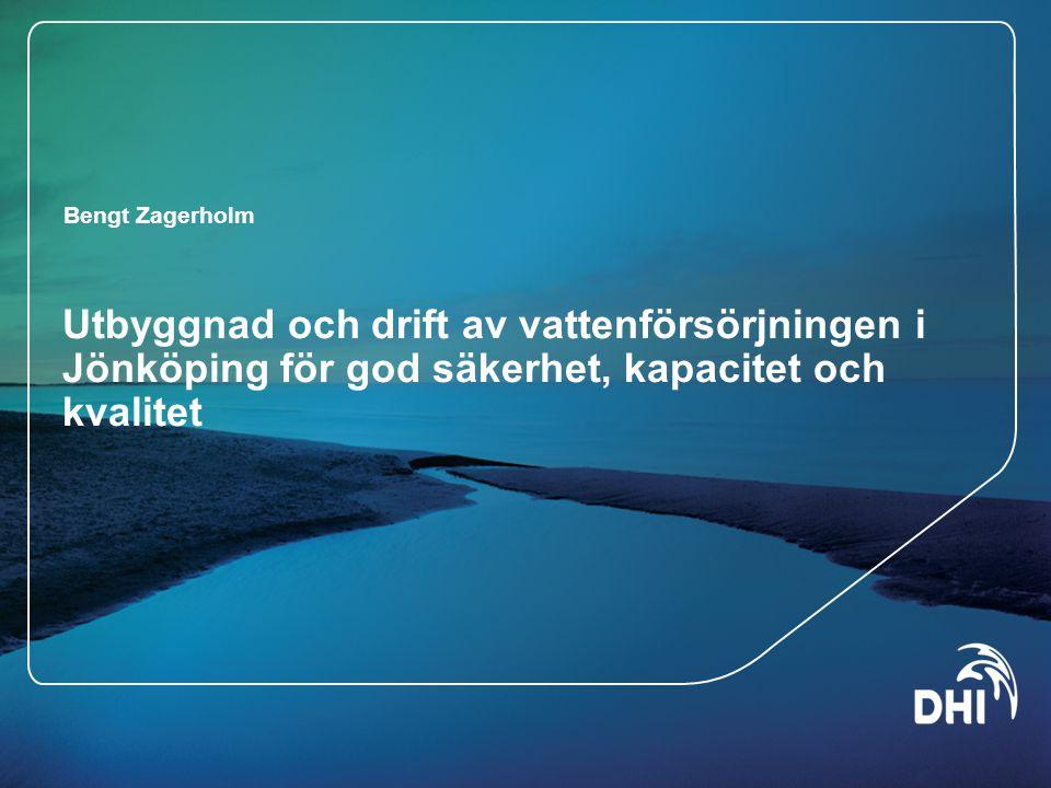 Utbyggnad och drift av vattenförsörjningen i Jönköping för god säkerhet, kapacitet och kvalitet
