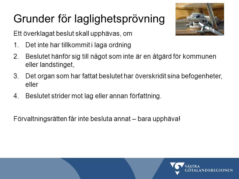 Grunder för laglighetsprövning