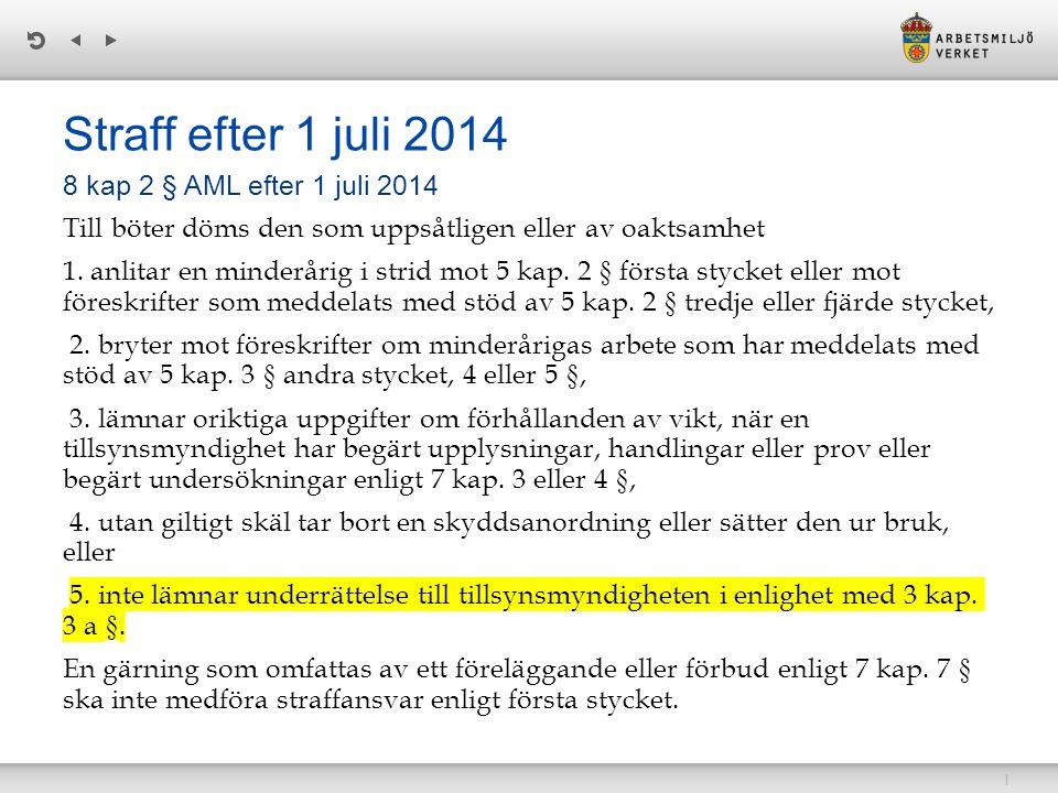 Straff efter 1 juli 2014