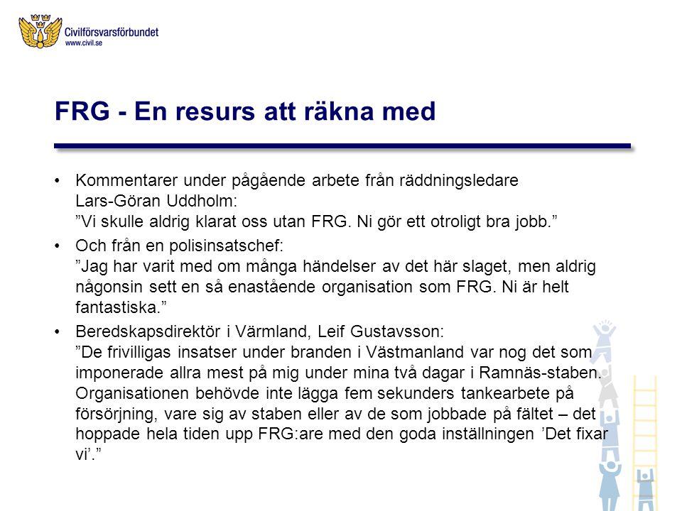 FRG - En resurs att räkna med