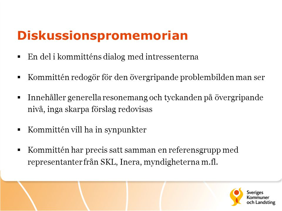 Diskussionspromemorian