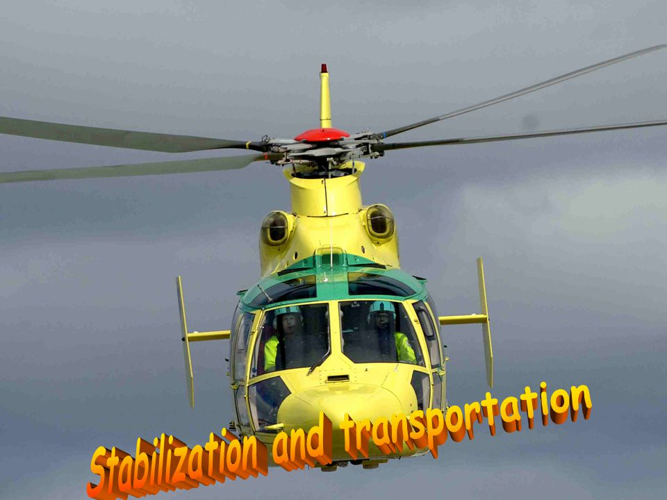 Stabilization and transportation